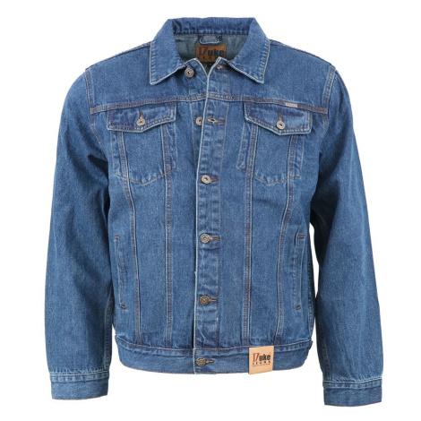 DUKE bunda pánská TRUCKER Western Style Denim džíska nadměrná velikost