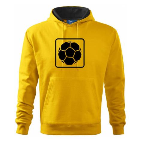 Fotbalový míč emblem - Mikina s kapucí hooded sweater