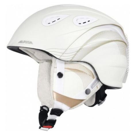 Alpina Sports GRAP 2.0 bílá - Lyžařská helma