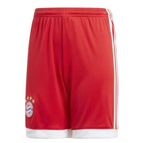 Dětské šortky adidas FC Bayern Mnichov Červená / Bílá