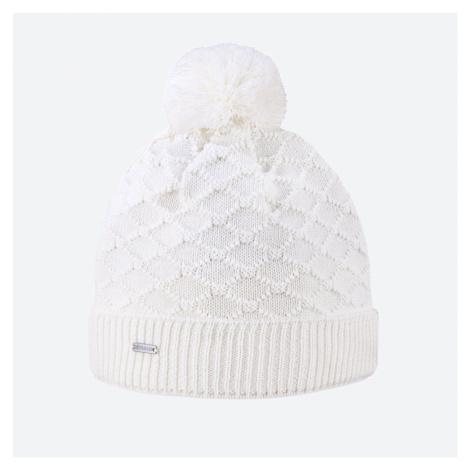 Kama A 124-100 pletená merino čepice bílá