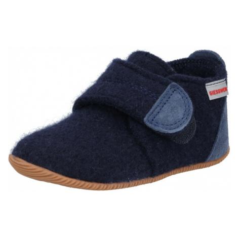 GIESSWEIN Pantofle enciánová modrá