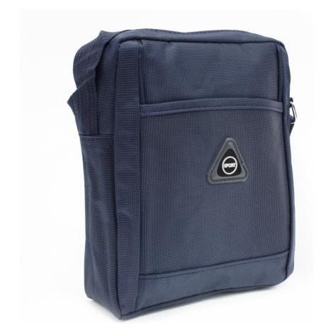 Modrá menší pánská crossbody taška Gershon Mahel