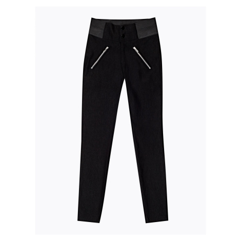 GATE Strečové kalhoty skinny s vysokým pasem