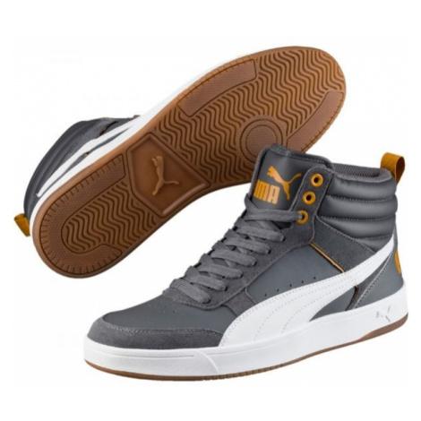 Puma REBOUND STREET V2 L šedá - Pánské volnočasové boty
