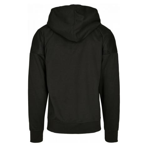 Neoprene Block Tech Fleece Full Zip Hoodie - black Urban Classics