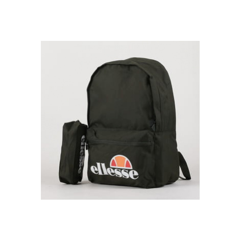 ellesse Rolby Backpack & Pencil Case tmavě olivový