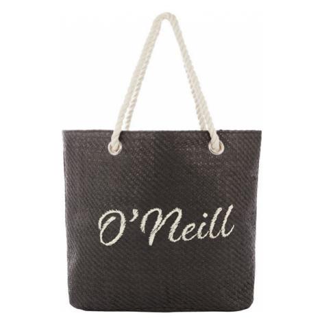 O'Neill BW BEACH BAG STRAW černá - Dámská plážová taška