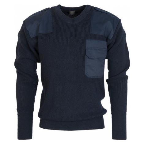 Pulovr BW Commando modrý tm. (navy) Max Fuchs
