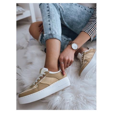 Women's sneakers PEREA khaki ZY0019 DStreet