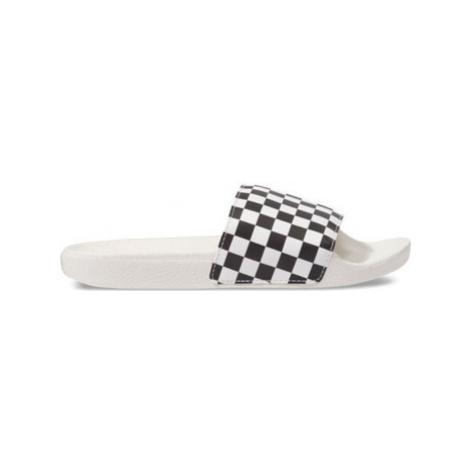 Vans Checkerboard Wht/Blk Bílá