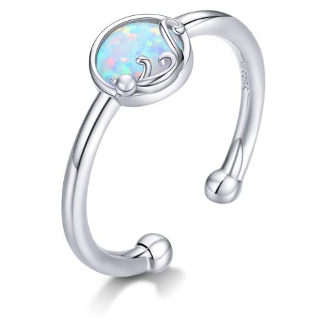 Linda's Jewelry Stříbrný prsten Cute Cat IPR053 Velikost: Univerzální