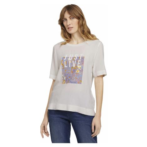 Tom Tailor dámské tričko s potiskem 1024727/10315
