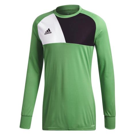 Brankářský dres adidas Assita 17 Jersey Zelená / Bílá