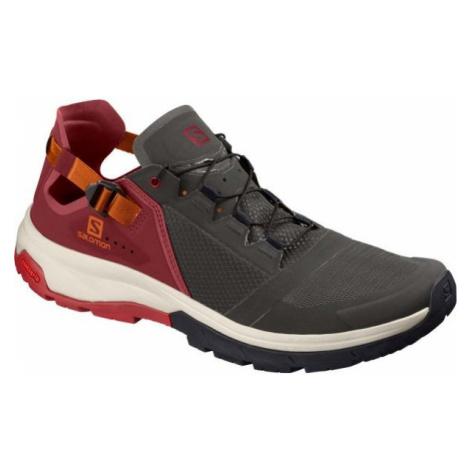 Salomon TECHAMPHIBIAN 4 černá - Pánská hikingová obuv