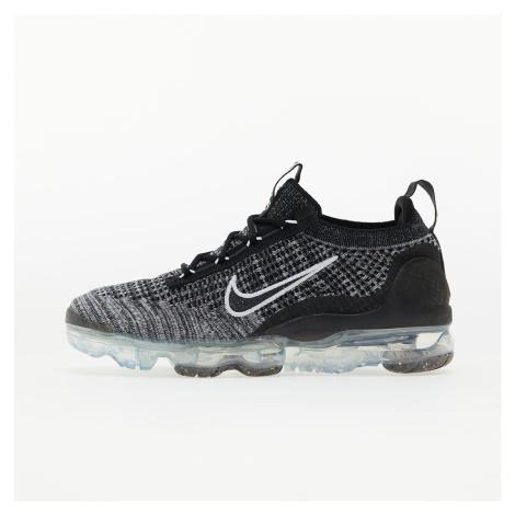Nike W Air Vapormax 2021 Flyknit Black/ Black-White-Metallic Silver