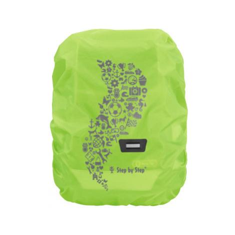 Pláštěnka pro školní aktovku nebo batoh, zelená
