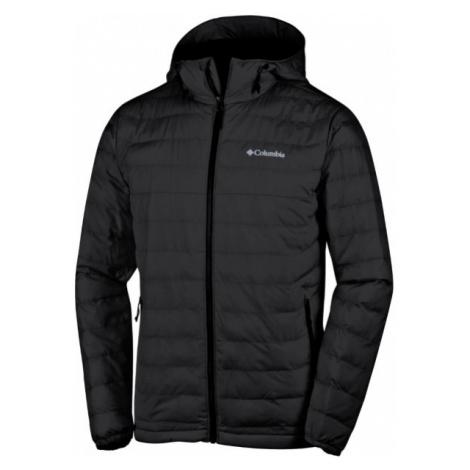 Columbia POWDER LITE HOODED JACKET černá - Pánská zimní bunda