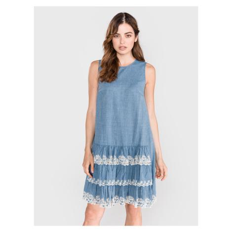 Šaty TWINSET Modrá