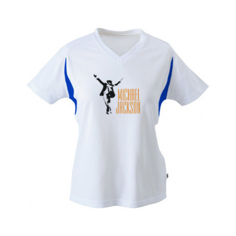 Funkční tričko dámské Michael Jackson