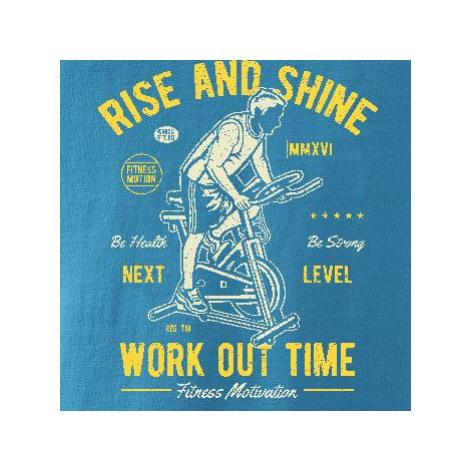 Work Out Time - Replay FIT pánské triko