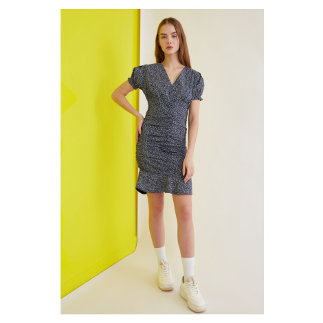 Trendyol Navy Blue Assynx Dress