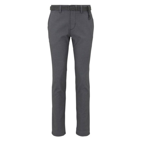 TOM TAILOR DENIM Chino kalhoty tmavě šedá