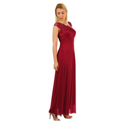 Dlouhé dámské šaty na ples