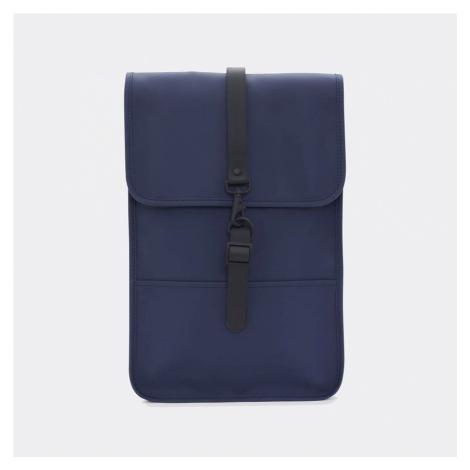 Tmavě modrý voděodolný batoh Backpack Mini RAINS