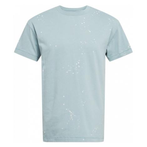 Abercrombie & Fitch Tričko světlemodrá / bílá