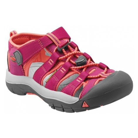 Sandály KEEN Newport H2 Junior very berry/fusion coral