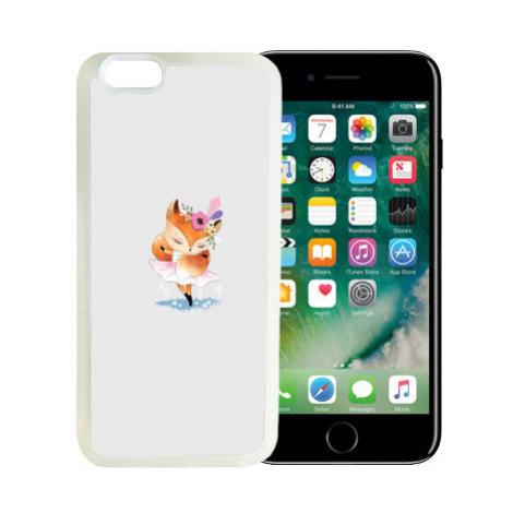 iPhone 7/8 kryt gumový soft Liška tanečnice