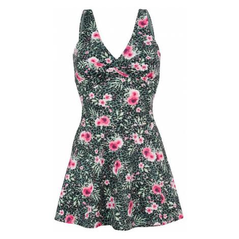 Květované plavkové šaty Cellbes