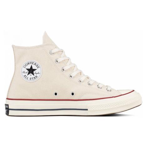 Converse Chuck Taylor All Star 70s Hi Top Parchment/Garnet/Egret bílé 162053C