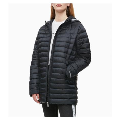 Calvin Klein dámská černá dlouhá bunda