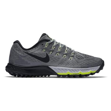 Dámské trailové boty Nike Air Zoom Terra Kiger 3 Šedá / Černá