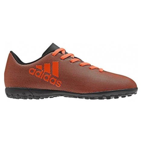 Dětské kopačky adidas X 17.4 TF Černá / Oranžová