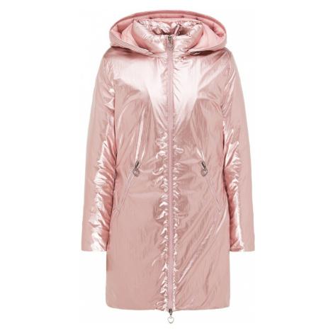 MYMO Zimní kabát starorůžová