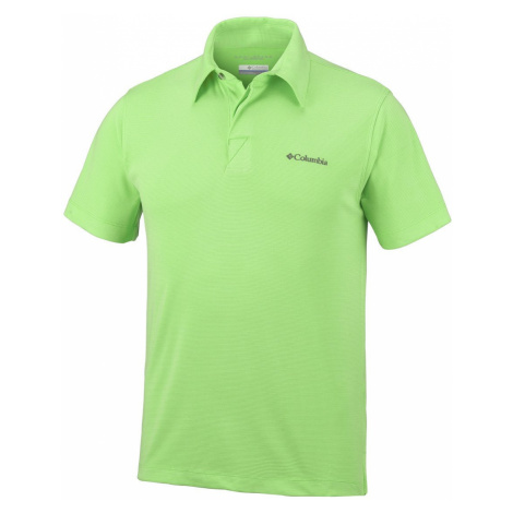Tričko Columbia un Ridge Polo M - světle zelená