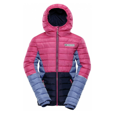 Dětská zimní bunda Alpine Pro BARROKO 4 - růžová