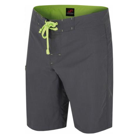 HANNAH Vecta Pánské šortky 118HH0036LK01 Dark shadow (green)