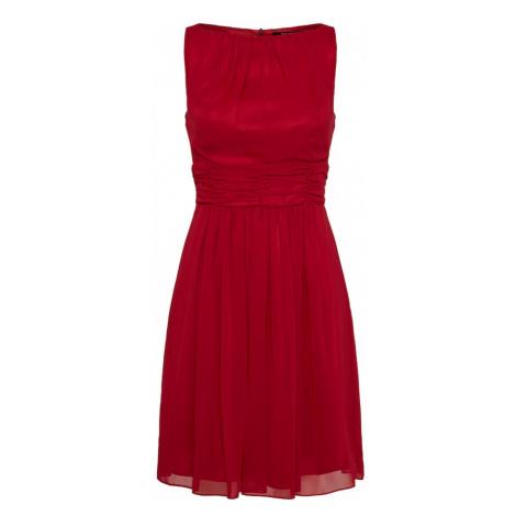 SWING Koktejlové šaty červená