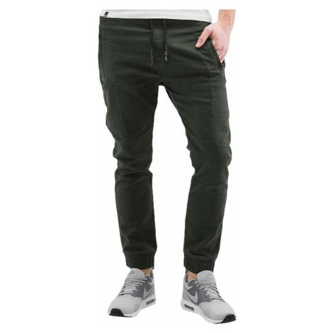 2Y kalhoty pánské Leeds Jogg Fit Pants Khaki