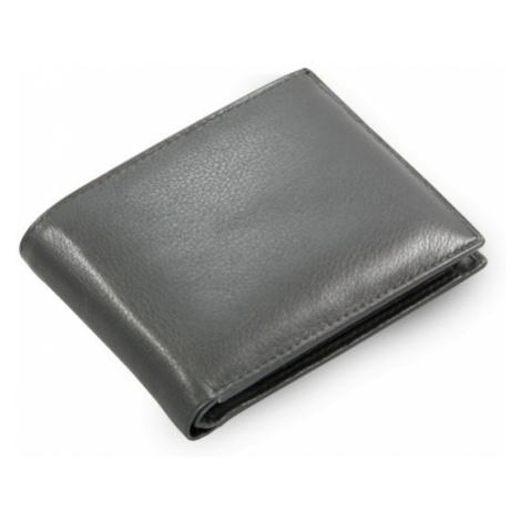 Černá pánská kožená peněženka Steven Arwel