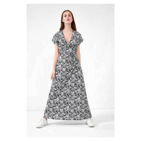 Žerzejové maxi šaty Orsay