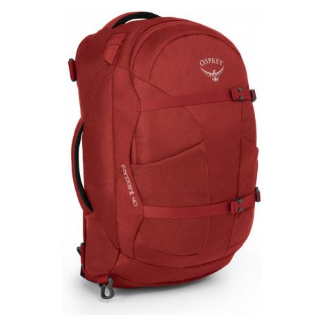 Osprey Farpoint 40 Jasper Red S M červené OSP21060328.02.C02