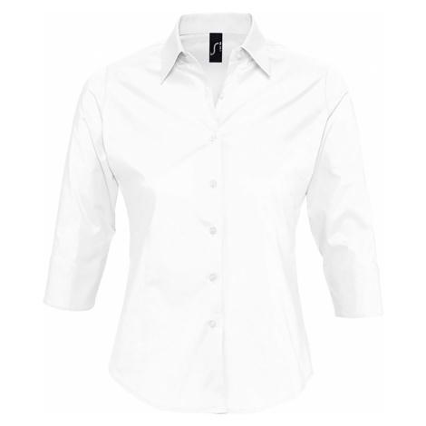 SOĽS Dámská košile EFFECT 17010102 Bílá SOL'S