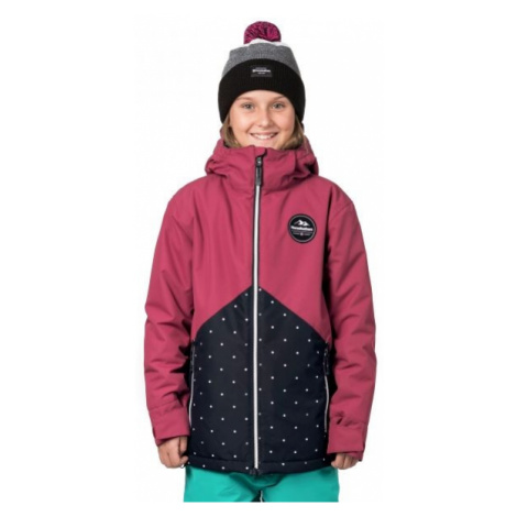 Horsefeathers JUDY KIDS JACKET růžová - Dívčí snowboardová/lyžařská bunda