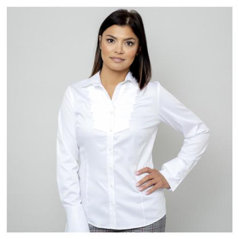 Dámská košile s ozdobným plisováním 11068 Willsoor