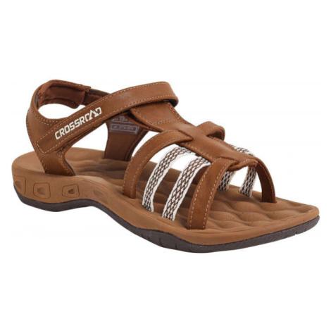 Crossroad MOLUM hnědá - Dámské sandály